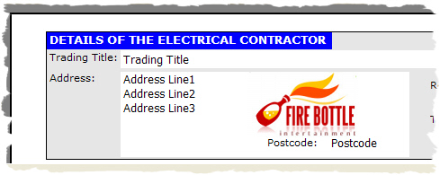EasyCert Electrical Software Registered Logo